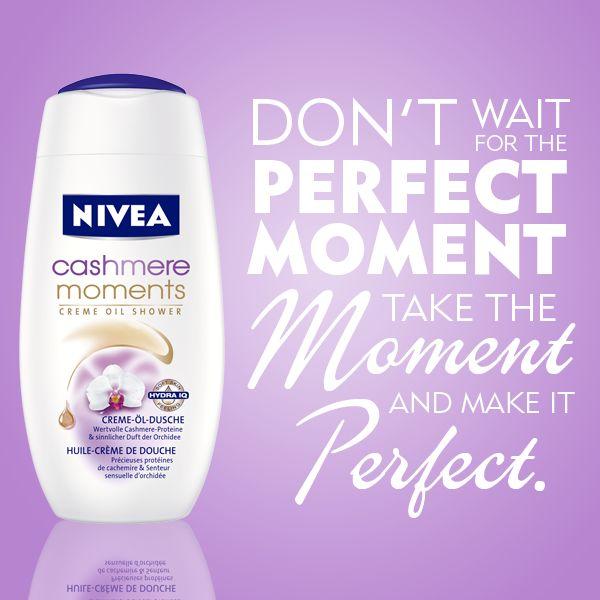 NIVEA Inspire Me! Jetzt bei unserem Gewinnspiel mitmachen und ein Produktset gewinnen: www.facebook.com/... #nivea #inspiration #quote #moment