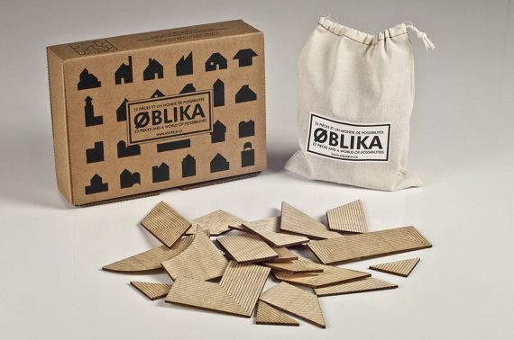 OBLIKA Wooden Puzzle