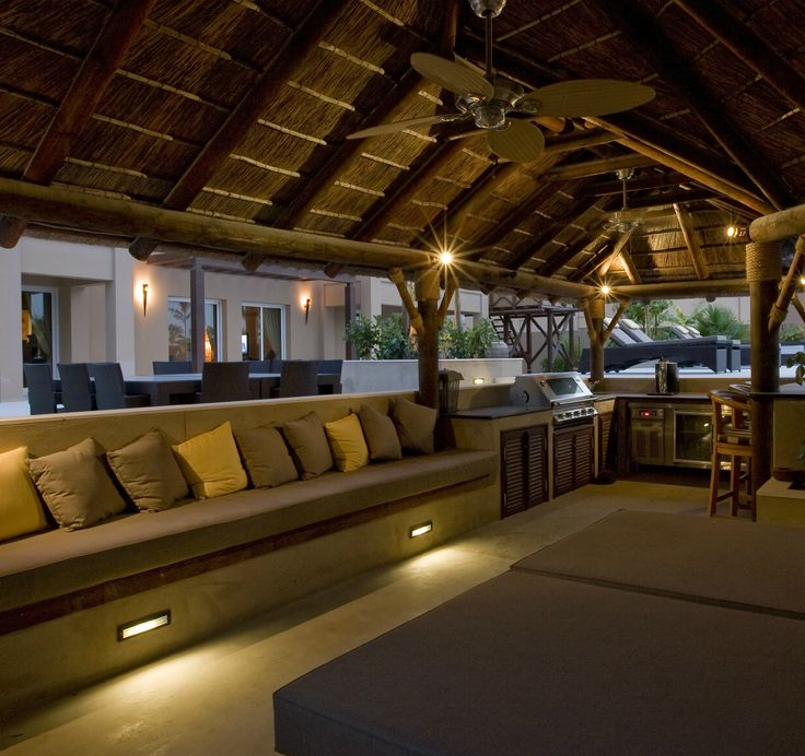 A Beautifully Thatched Roof Covers A Plush Seating Corner: 16 Best Thatch Garden Lapa Images On Pinterest