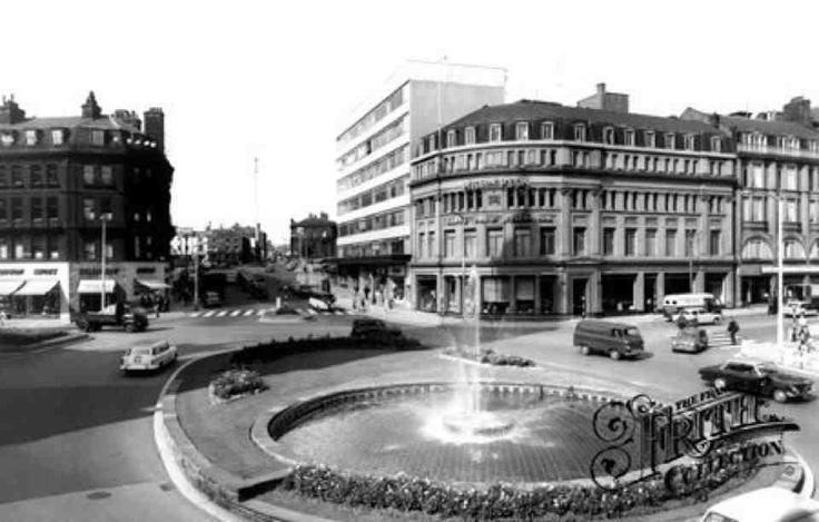 Sheffield in the 70's Godwin fountain