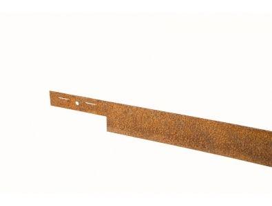 Traptreden en Borders :: Metalen/Kunststof kantplanken :: COL-MET Corten 225cm - Lek Tuinmaterialen