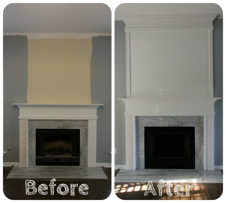 How To Use Moulding To Extend Your Fireplace