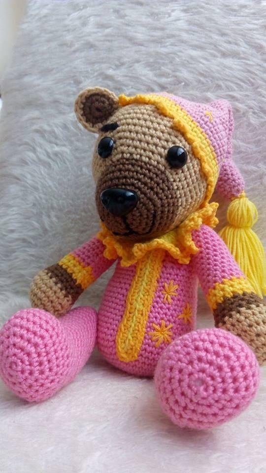 medvídek v pyžamku