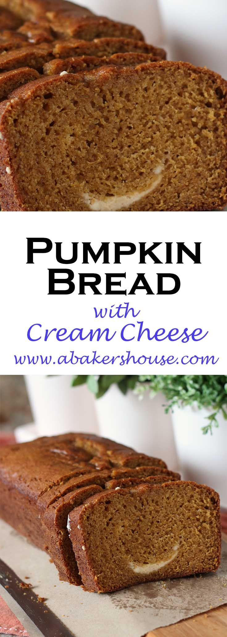 Pumpkin Bread with Cream Cheese Swirl is your go-to quick bread for autumn baking. Easy to pull together and even easier to eat, this pumpkin bread is a seasonal favorite.