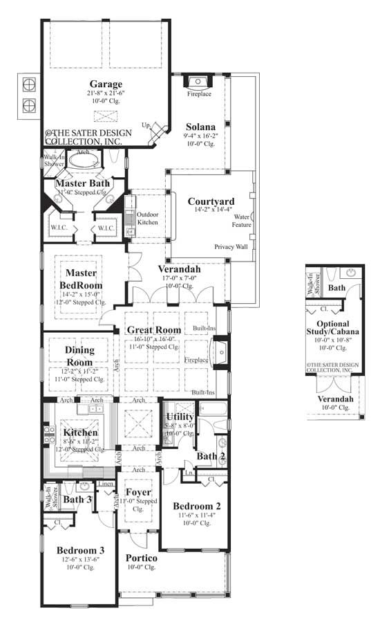 Best 25 narrow lot house plans ideas on pinterest for Narrow lot luxury house plans