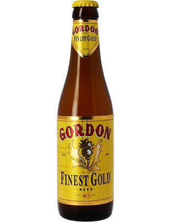 Gordon Finest gold: 33cl - Une bière anglo-belge douce et puissante à la fois ! 10° et un goût moelleux !