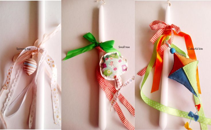 easter candles, lampada, orhodox easter candles, godmother's gift