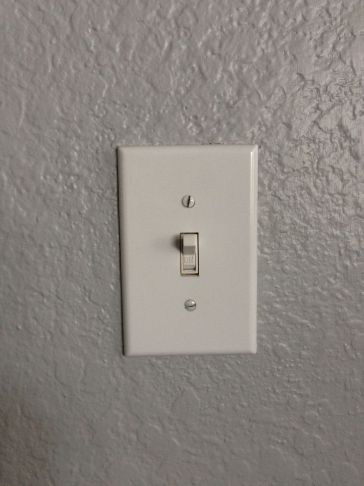 Light switches - Before