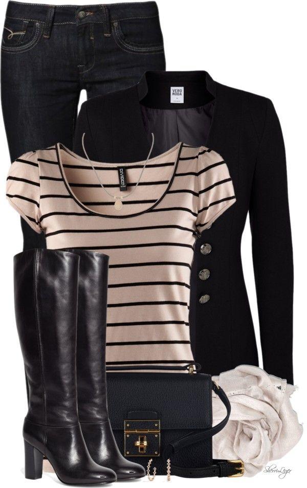 Vero Moda Blazer Classy Fall Outfit outfitspedia