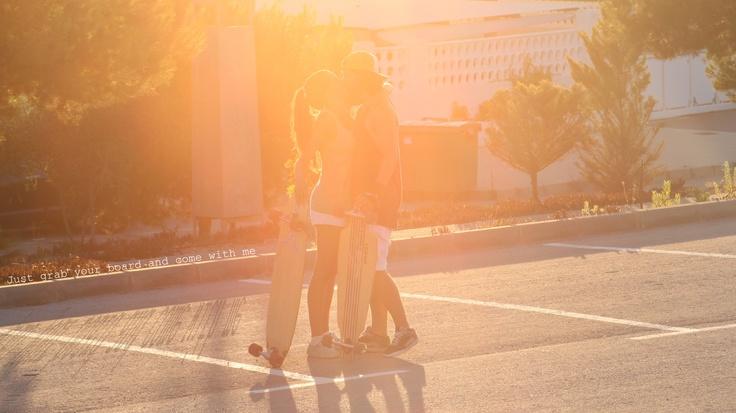 "Alberto Monteagudo ""Longboard couple"""