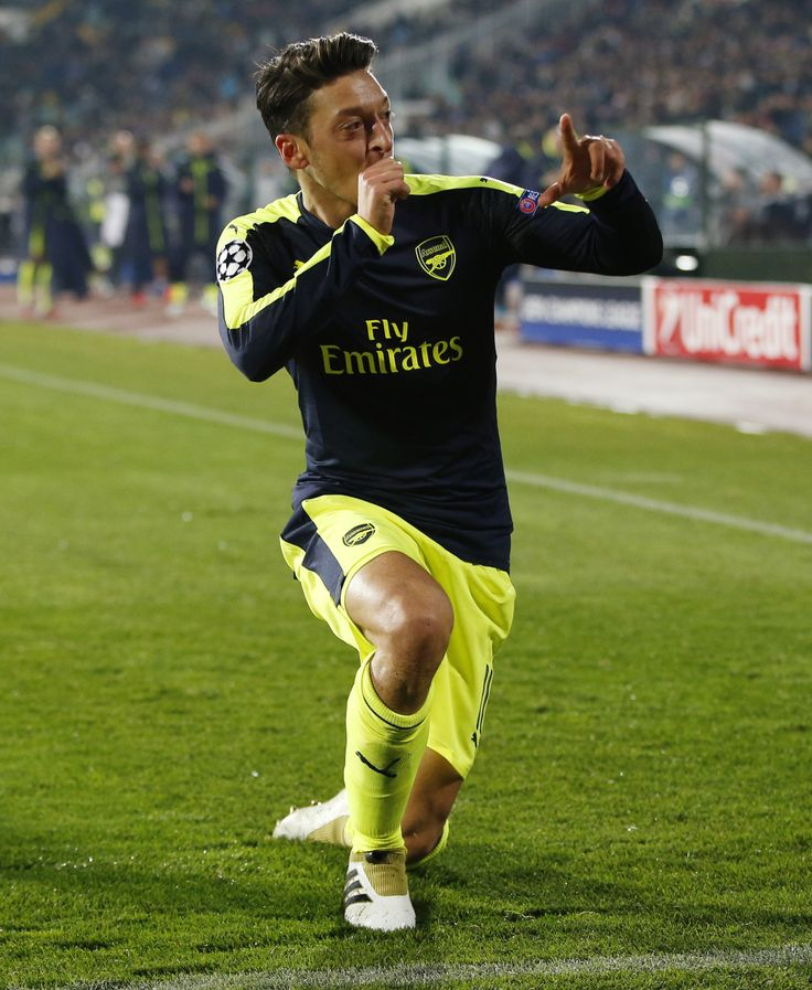 Mesut Özil. That celebration is sway