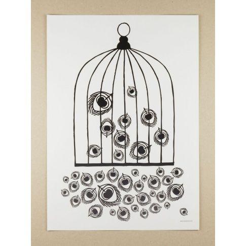 Plakat A3 The Great Escape - MagiaPolnocy.pl sklep w stylu skandynawskim. #muumuru