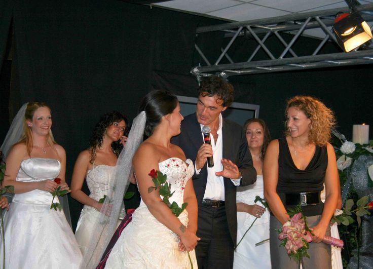mariel e Massimo giletti