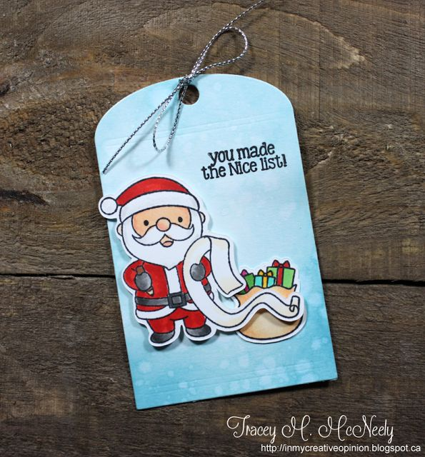 In My Creative Opinion: The 25 Days of Christmas Tags 2017 - Day 25