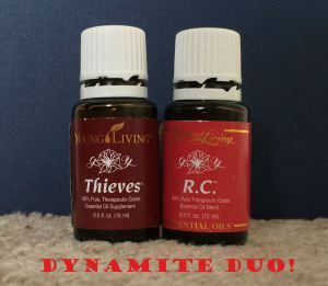 Dynamite Duo Thieves And R C For Chest Congestion
