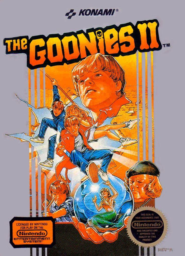 The Goonies II (NES, Nintendo Entertainment System, 1987)