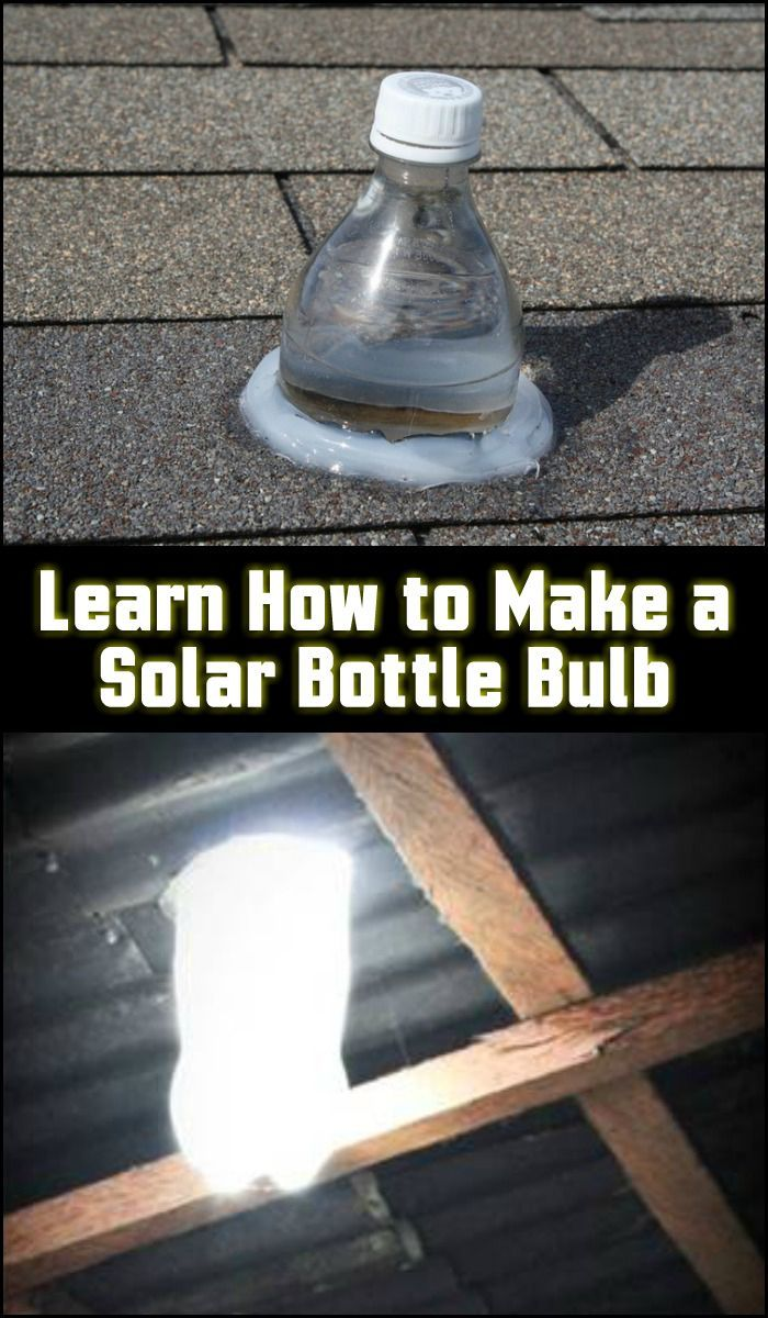 DIY Woodworking Ideas Solar Water Bulb