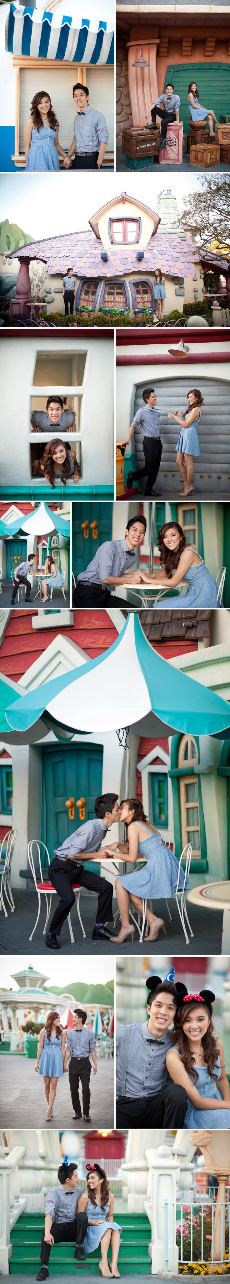 Disneyland Engagement Session!    Eileen Liu Photography