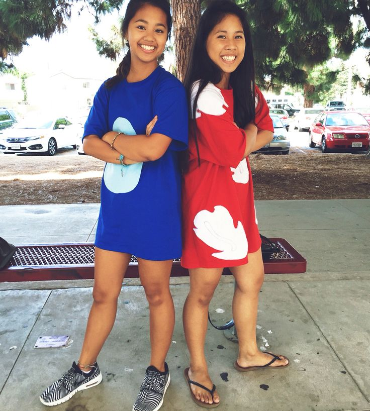 HOMECOMING WEEK DAY 1: DISNEY DAY DYNAMIC DUO- LILO AND STITCH