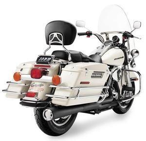 Image of SuperTrapp 2:1 Supermegs - Black Ceramic - Harley Davidson Softail Models,12- Up - 62-4562