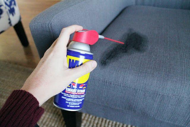 Chris Loves Julia: Removing Sharpie from Upholstered Furniture