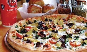 One of our stops  - Fuel Pizza :: Menu