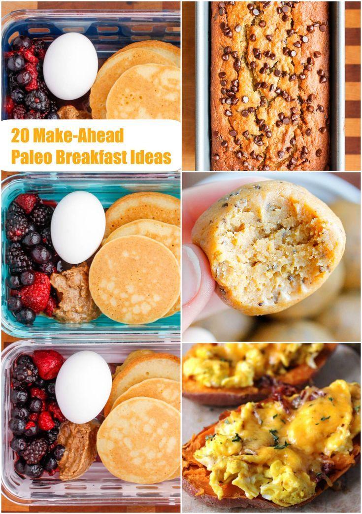 20 Make-Ahead Paleo Breakfast Ideas