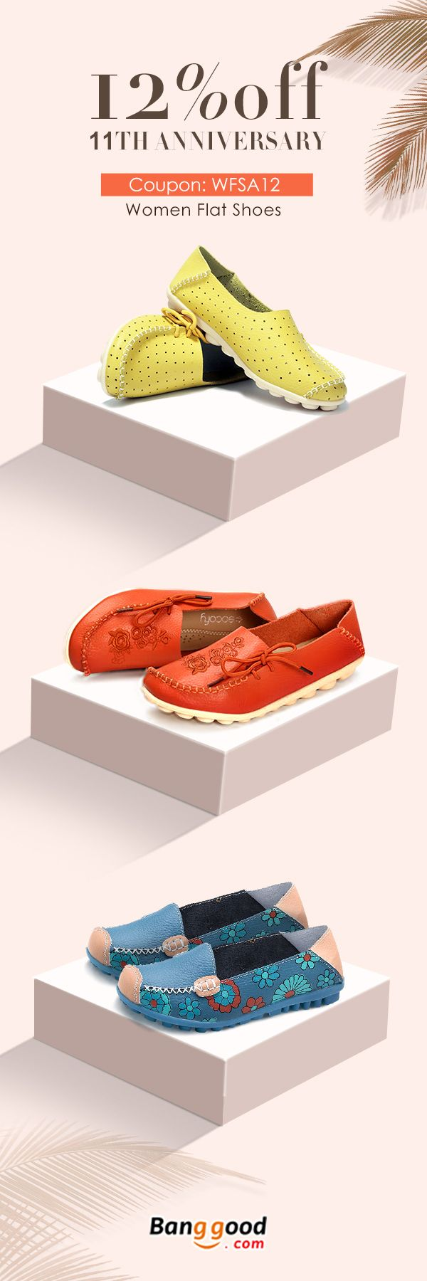 Women Flat Shoes Collection, Start From $16.73, up to 12% OFF. Fall in love with trendy style! Women's Jewelry, Women's Earrings, Women's Fashion, Christmas Accessories.