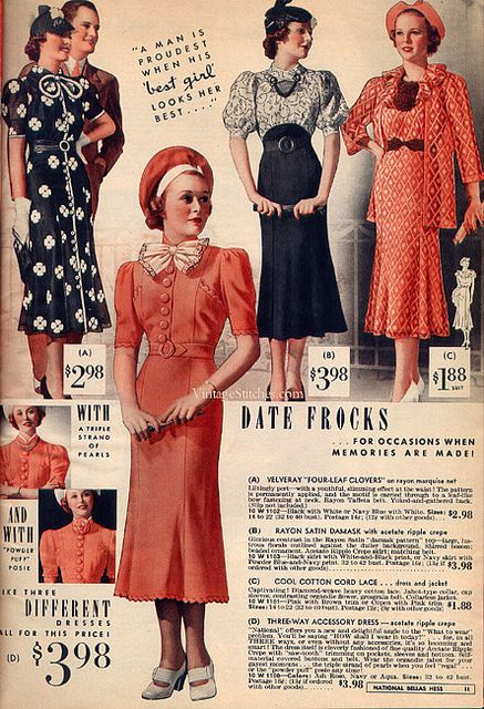 171 Best Ideas About 1930s Womens Fashion On Pinterest