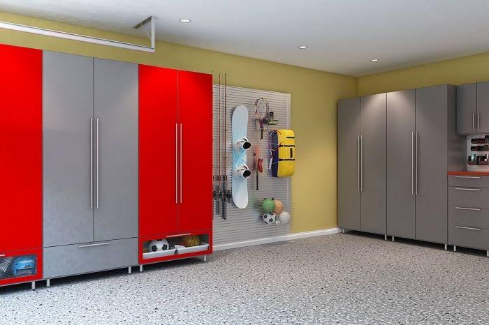 1001 Exemples D Amenagement Garage Fonctionnel Amenagement Garage Renovation De Garage Meuble Rangement