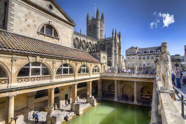 世界遺産 バース市街 バース市街の絶景写真画像  イギリス