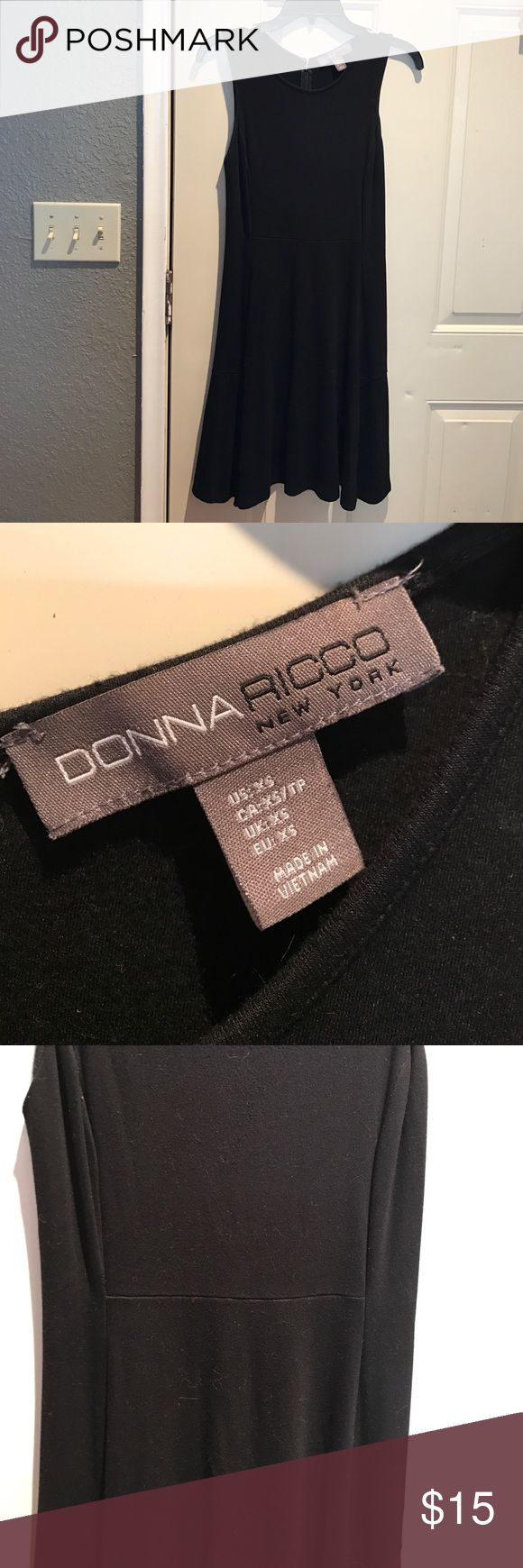 Donna Rico Dress Black