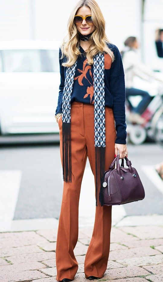 Olivia Palermo Can't Stop Wearing This £6 Accessory via @WhoWhatWearUK