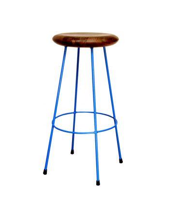 Earth de Fleur Homewares - Ironworx Bar Stool Blue