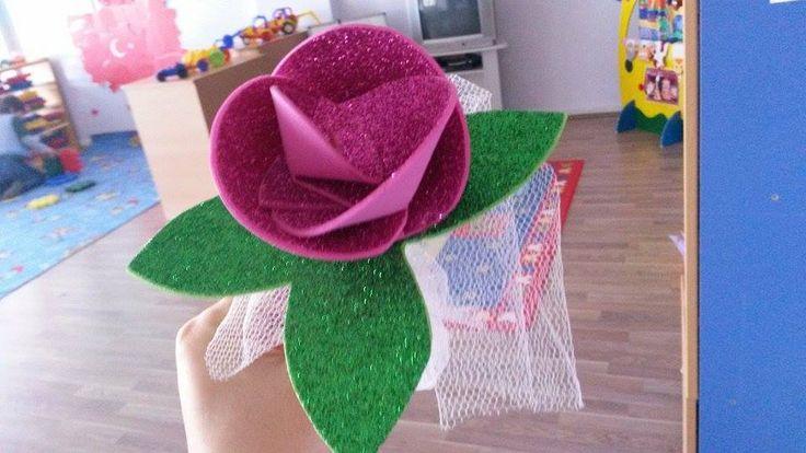 okulöncesi çiçek (evadan gül)