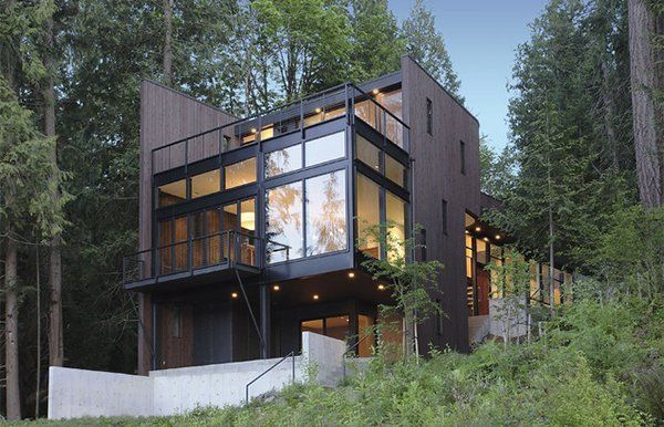 15 Modern Contemporary Homes On A Hill Architecture Architecture House House In The Woods