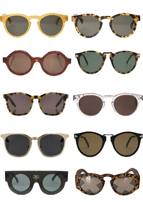 Sunglasses In my youth I collected vintage sunglasses and hung them on my wall.  I had around five pairs.  Think I still have the one like upper left pair ...