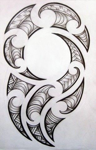 maori design for my brother by josephine76 Maori Tattoo Designs