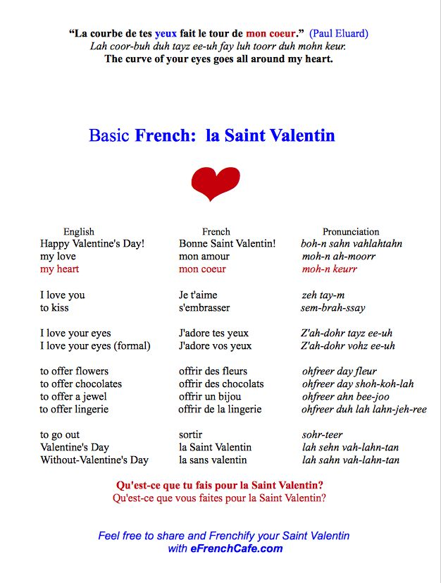 pronounce valentin french