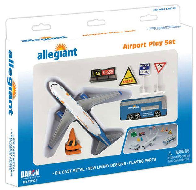 Realtoy Airport Sets Allegiant Airlines Bernie