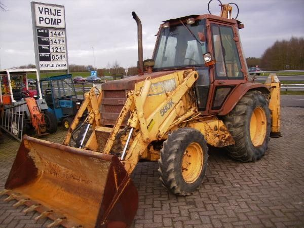 Used Case 580 K turbo backhoe loaders Year: 1989 for sale - Mascus USA