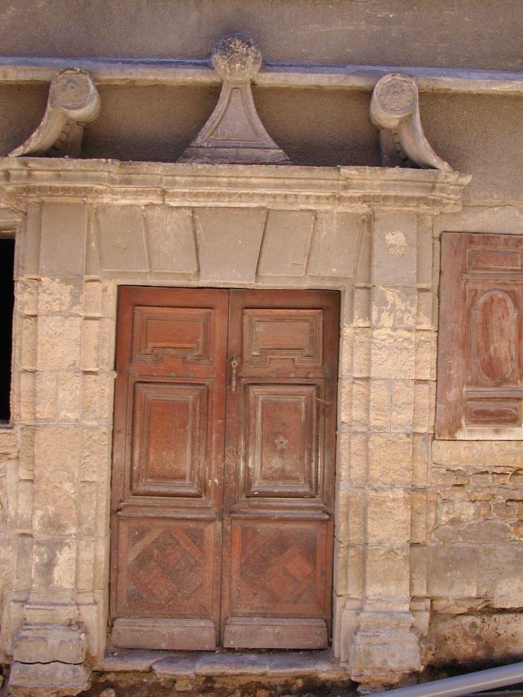 Ancienne porte centre ville de mende porte et fen tre for Centre de liquidation porte et fenetre