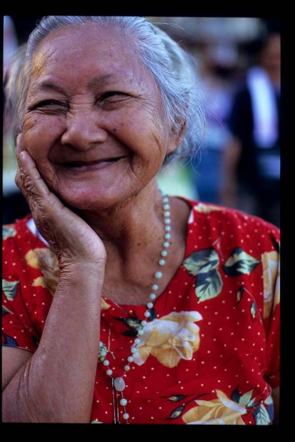 A smile from the Philippines....