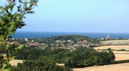 View from Kelling Heath Holiday Park, North Norfolk