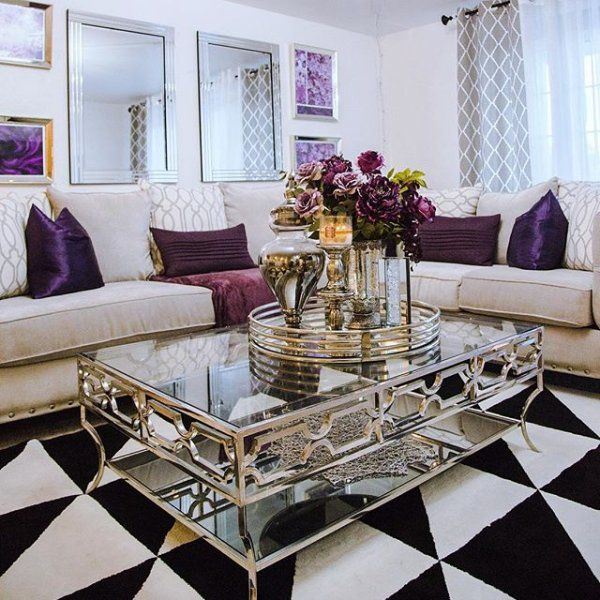 Buying This Zgallerie Abigail Table Was One Of The Best Decision I Have Ever Made Glamorous Living Room Center Table Living Room Living Room Decor Cozy
