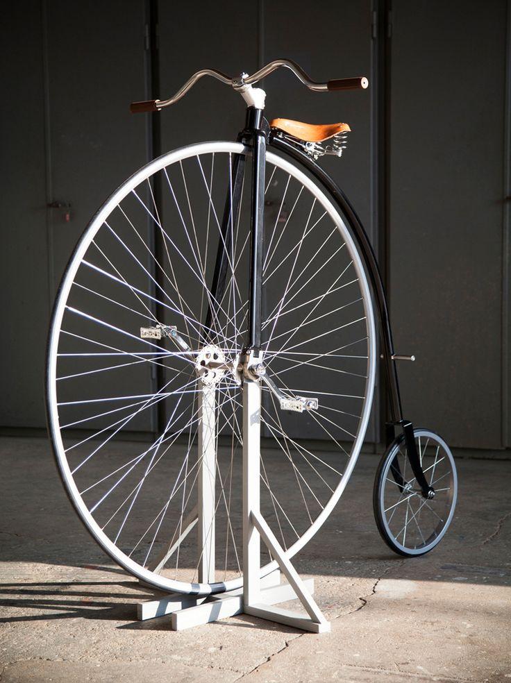luxury penny farthing bucycle by standard highwheels