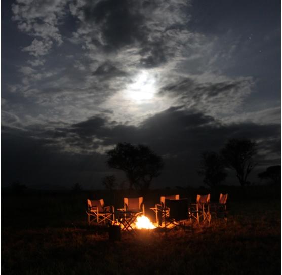 Chestnuts roasting on an open campfire...Singita Explore Mobile Camp: http://www.luxurysafaricamps.com/singita-explore.html