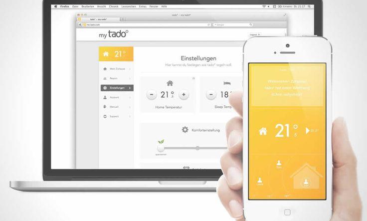 Tado Heating App | http://www.hashslush.com/tado-heating-app/ | #SOCIAL