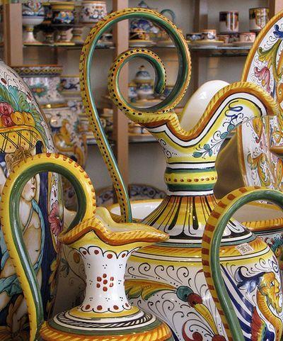 Italian Ceramics Laguna Beach
