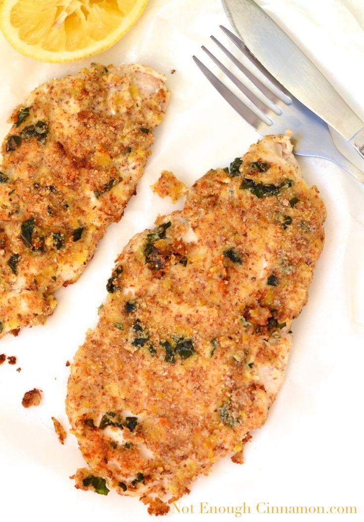 Almond-Crusted Chicken Schnitzel